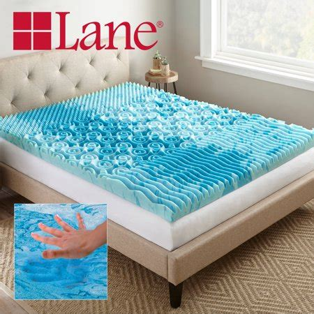 cooling memory foam mattress topper 3 quot cooling gellux memory foam gel mattress topper
