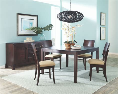 aarons dining room tables palettes by winesburg dining room cosmo table top 3636k0