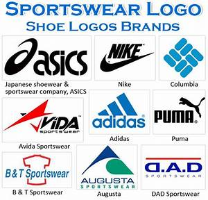 Most Famous Sportswear Logos and Names - Shoe Logos Brands