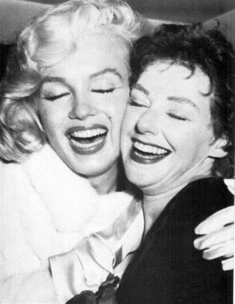 Marilyn Monroe With Arthur Miller's Sister Joan Copeland