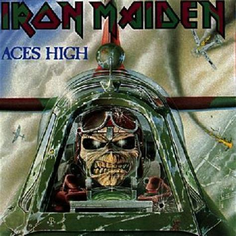 vinil cd iron maiden aces high