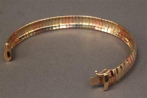 lot   tri color mesh bracelet