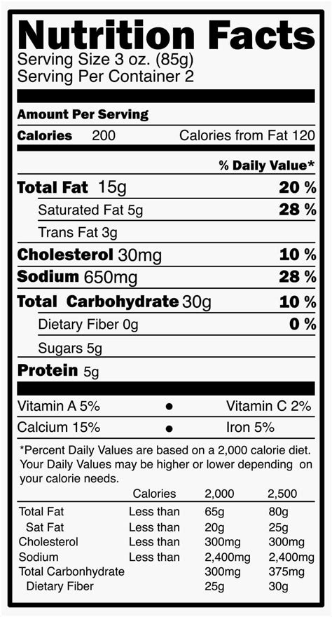 label cuisine reading food packages and nutrition labels four tips for