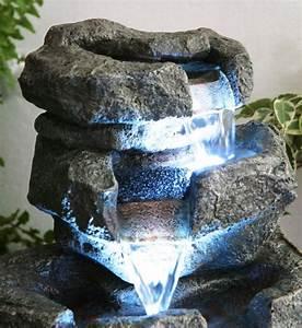 Grande Fontaine D Intérieur : fontaine d 39 int rieur shubunkin led zen et relaxation ~ Premium-room.com Idées de Décoration