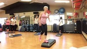 Basic Step Aerobics Exercise Class Full Version Youtube