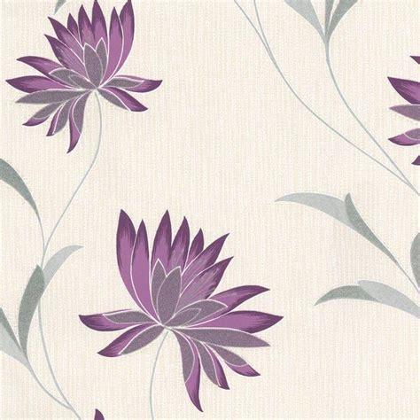 belgravia decor zoe plum wallpaper purple grey cream