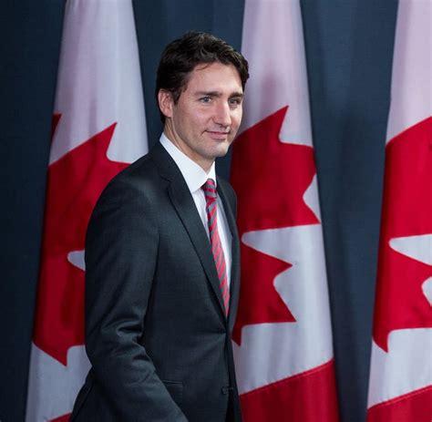 el primer ministro de canadá justin trudeau wikipedia