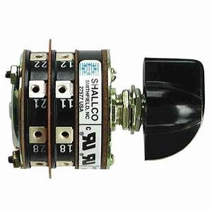 Shallco 10 Position 2 Stack Rotary Switch