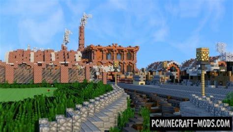 factory map  minecraft   pc java mods