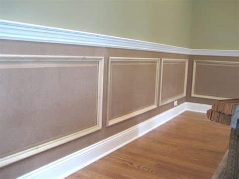 Panel Molding Wainscoting by Raised Panel Wainscoting Traditional New York By Jl