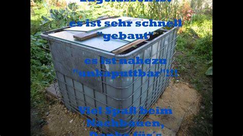 Wassertank Selber Bauen by Teichfilter Selber Bauen Ibc