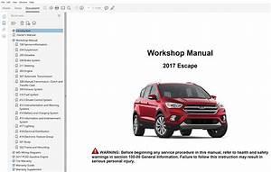 2017 Ford Escape Repair Manual