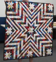 Exploding Star Quilt Pattern