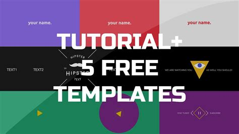 effects tutorial gif animated banner