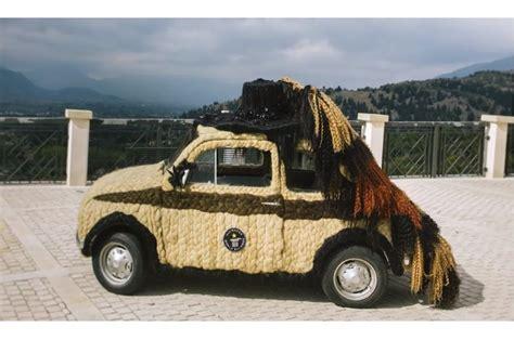 Modifikasi Fiat 500 by Woow Fiat 500 Klasik Jadi Mobil Berambut Hasil Kreasi