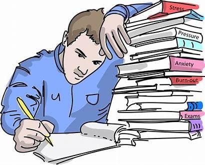 Studenten Prestatiedruk Onder Ertegen Gedaan Bezwijken Wordt