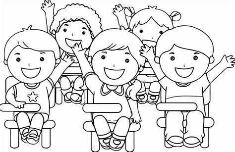 kumpulan gambar mewarnai anak sekolah terbaru