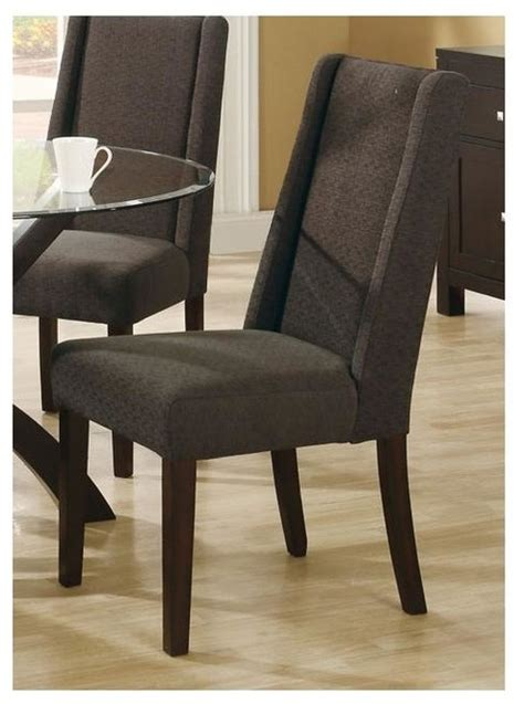 40 in upholstered dining chair set of 2 teal green