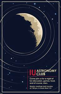 IU astronomy club poster by ShadowRaven697 on DeviantArt