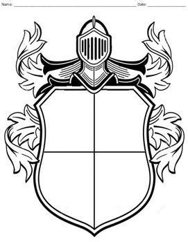 personal coat  arms activity  emily greene tpt