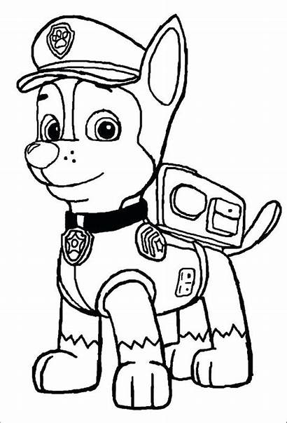Chase Paw Patrol Drawing Coloring Pages Spy