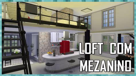 sims  loft  mezanino house building youtube