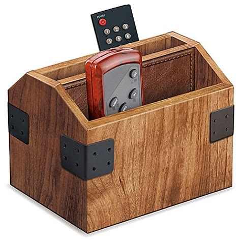 remote holder for wood remote caddy bed bath beyond