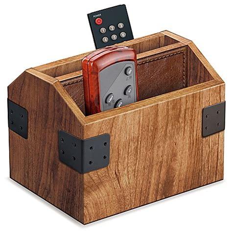 Wood Remote Control Caddy  Bed Bath & Beyond