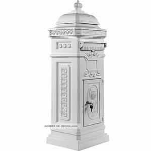 Briefkasten Holz Antik : aluminium standbriefkasten rostfrei postkasten briefkasten antik wei ~ Sanjose-hotels-ca.com Haus und Dekorationen