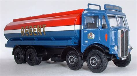 modelbus zone efe model  regent petrol aec mammoth major mk  axle tanker lorry