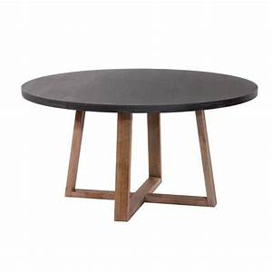 Table 140 Cm : table ronde tambora 140 cm achat vente table salle a manger pas cher couleur et ~ Teatrodelosmanantiales.com Idées de Décoration