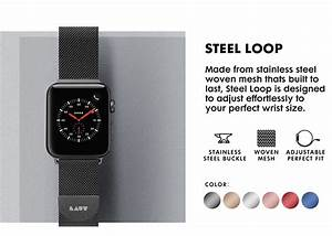Steel Loop Watch Strap For Apple Watch Series 1  2  3  4  5