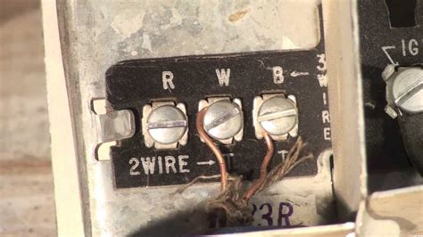 thermostat wiring   oil furnace youtube