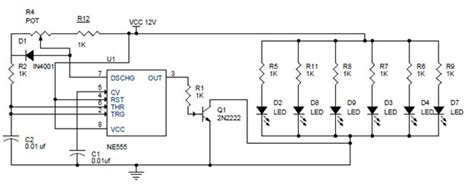 Pwm Led Dimmer Using Circuit Block Diagrams