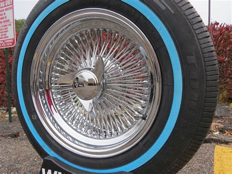 1000 images about slabz on wire wheels 15 quot chrome dayton style rear wheel drive 100 spoke wire