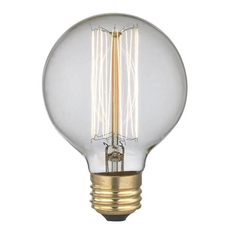 globe light bulbs vintage edison g25 globe light bulb 40 watts 40g25