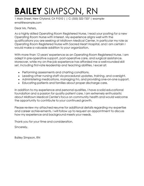 Cover Letter For Nursing Resume by Cover Letter Exles Resources