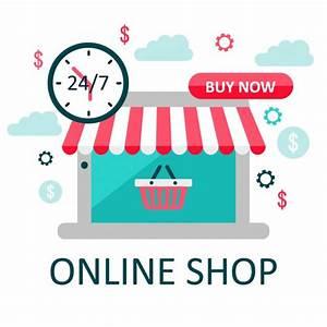 Online Shop De : online winkel illustratie e commerce vector illusustration ~ Watch28wear.com Haus und Dekorationen