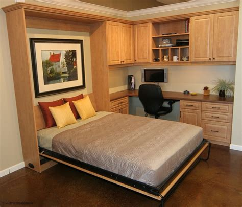 Queen Wall Bed With Desk  Ashley Furniture Home Office