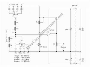 Variable Frequency Sinewave Generator  U2013 Circuit Wiring Diagrams