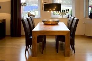 Massivholz Tisch : esszimmer ~ Pilothousefishingboats.com Haus und Dekorationen