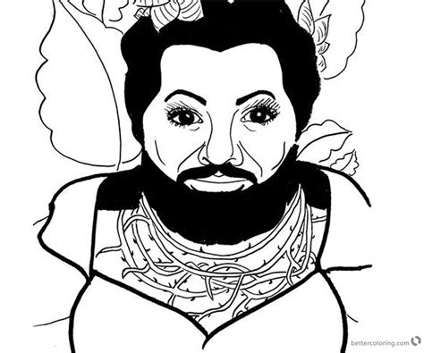The Greatest Showman Zendaya Coloring Pages Anne Fan