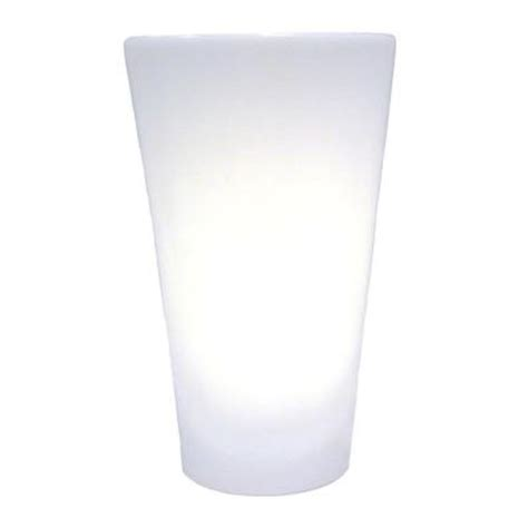 it s exciting lighting series white indoor outdoor battery operated 5 led wall sconce iel