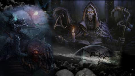 dark darkness death digital art dragons wallpaper