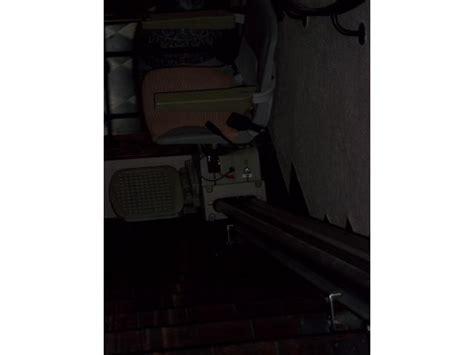 siege cofidis 2ème monte escalier avec siège sur rail de 3 90m de