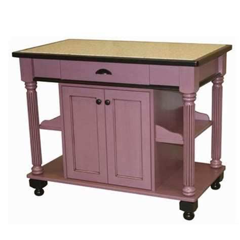 nigella kitchen island with granite top wayfair