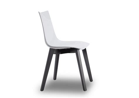 chaise wengé chaise design avec pieds bois wengé zebra