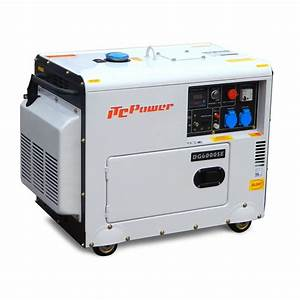 Groupe Electrogene 10 Kw : groupe lectrog ne diesel insonoris 6kw dg7500se ~ Premium-room.com Idées de Décoration