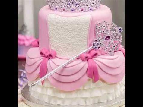 princess themed cake ideas  baby girls birthday youtube
