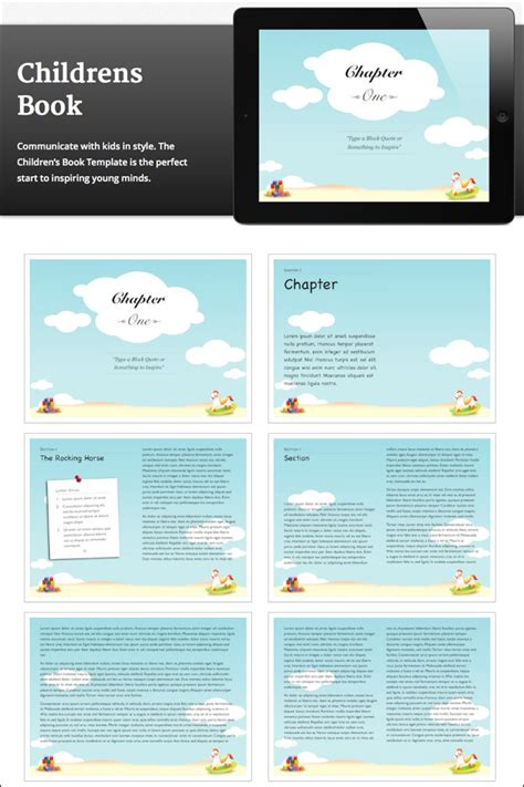 children s book template 10 creative ibooks author templates only 39 mightydeals